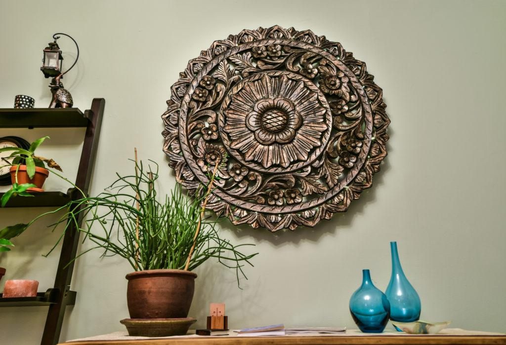 Peaceful interior at Avivage Massage